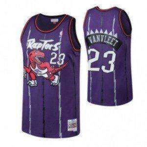 Nike Toronto Raptors Fred VanVleet Purple Jersey